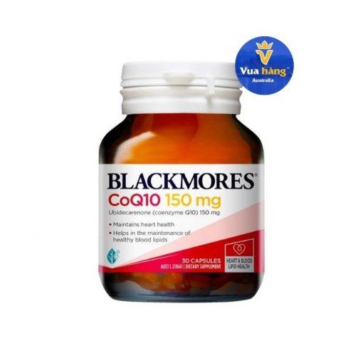 Thuốc bổ tim mạch Blackmores CoQ10 150mg 30 viên
