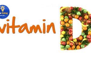 Vổ sung vitamin D cho bé