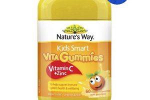 kẹo dẻo vitamin c và kẽm