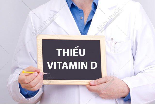 thiếu vitamin D