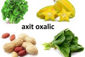 tránh xa axit trong quá trình bổ sung canxi