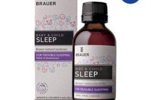Siro hỗ trợ giấc ngủ cho bé