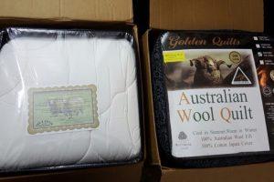 Chăn lông cừu golden