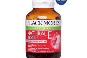 vitamin E kết hợp tinh dầu hoa anh thảo