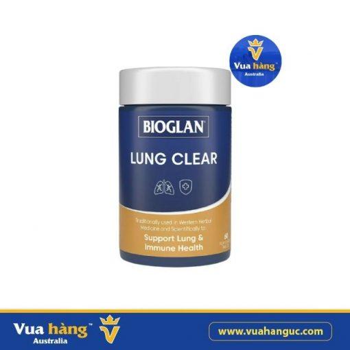 Viên uống bổ phổi Bioglan Lung Clear 60 viên