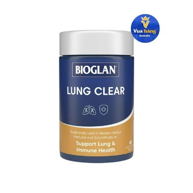 Viên Uống Bổ Phổi Bioglan Lung Clear Hộp 60 viên