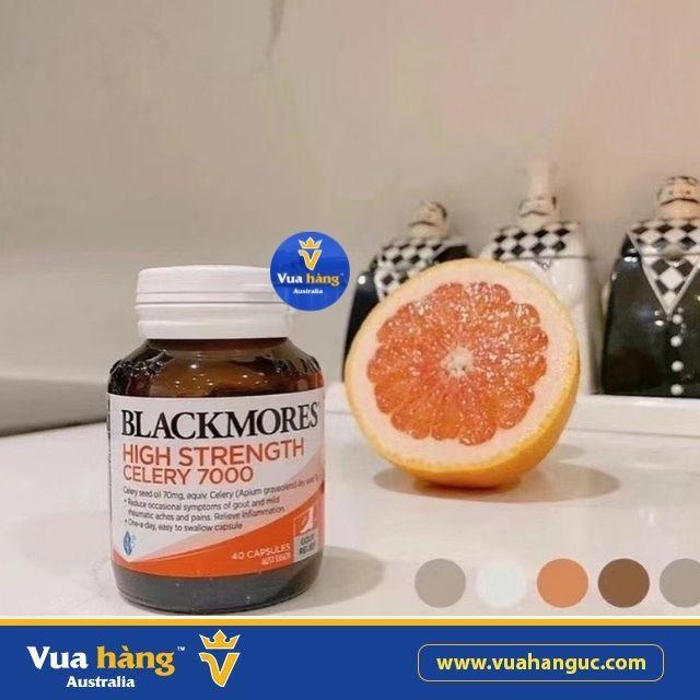 Viên uống phòng ngừa & điều trị Gout Blackmores Celery 7000.
